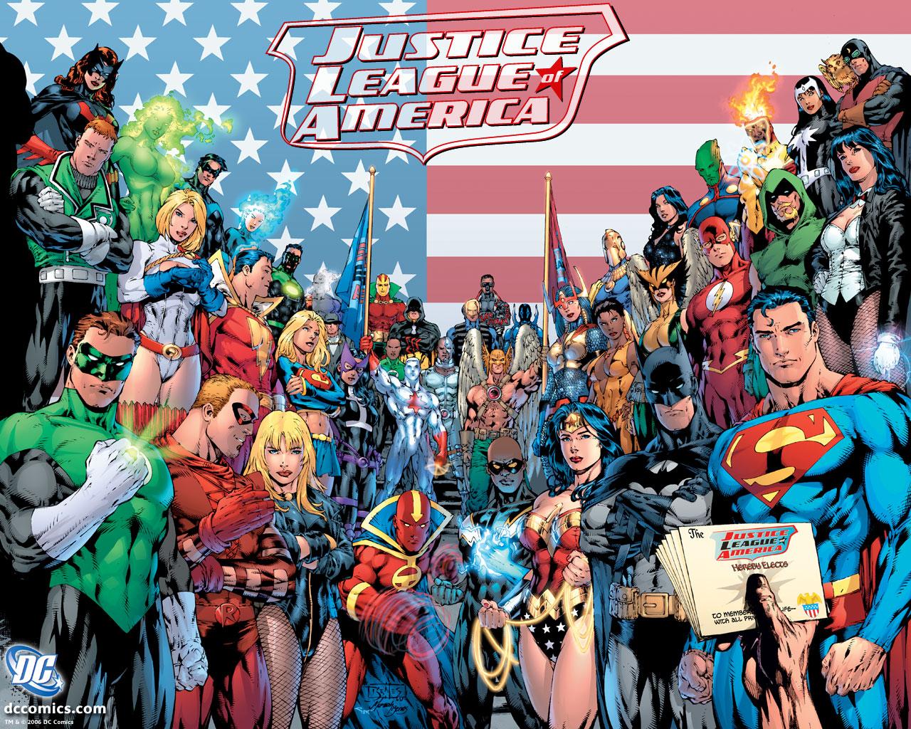 Justice League of America Superhero Wiki FANDOM powered by Wikia