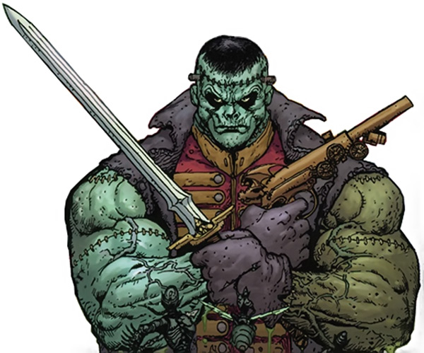 Image result for frankenstein dc comics