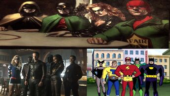 Justice Society In Other Media