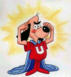 Underdog cartoon