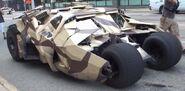 The Dark Knight Rises Batmobile