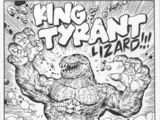 King Tyrant Lizard