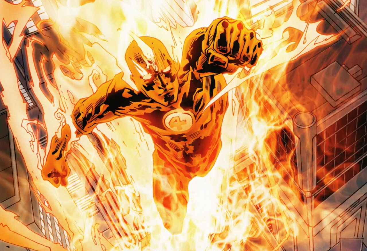 Human Torch | Superhero Wiki | FANDOM powered by Wikia