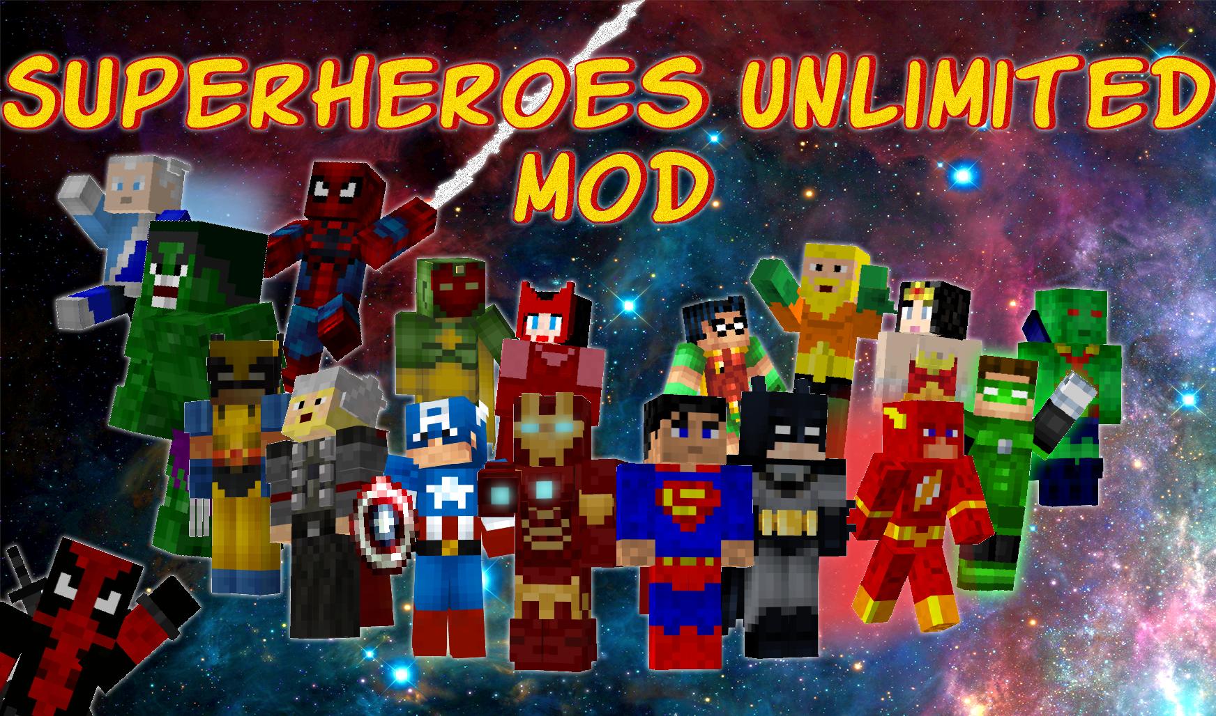 Superheroes Unlimited Minecraft