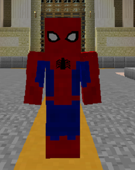SpiderMan Minecraft Superheroes Unlimited Mod Wiki FANDOM - Skins para minecraft pe de spiderman