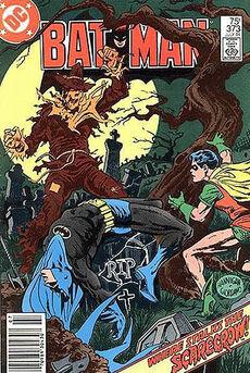 Scarecrow Comic Book