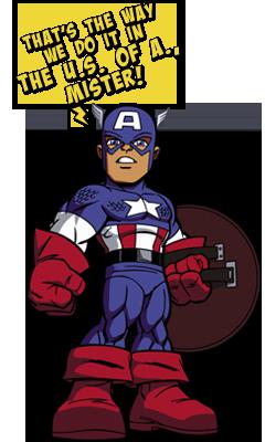 SHS Captain America