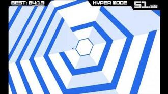 Super Hexagon All Level Finished + Ending