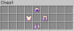 Enchanted Gold Armor Contents