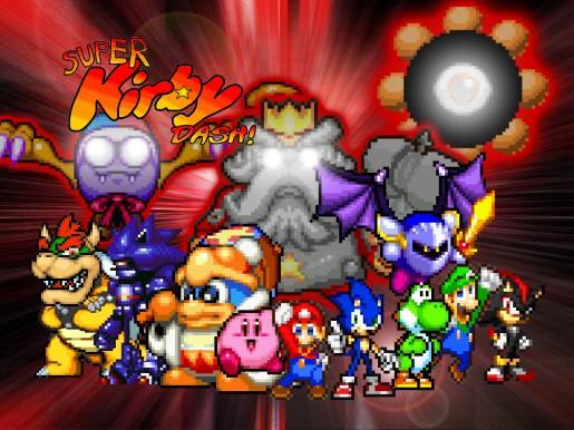 File:Super Kirby Dash teaser poster.jpg