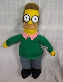Ned flanders plush toy