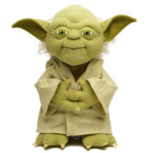 Yoda plush toy