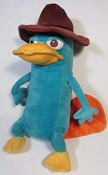 Perry the platypus plush toy