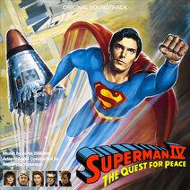 Superman IV Quest for Peace (LP Release)