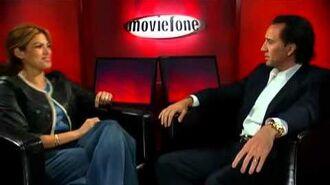 'Ghost Rider' Unscripted Nicolas Cage, Eva Mendes