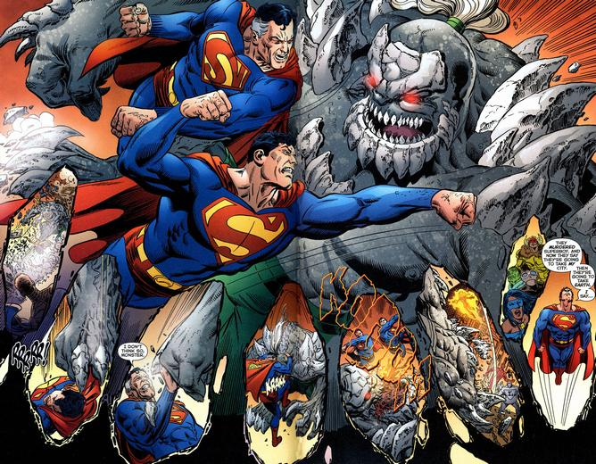 Superman Vs Doomsday Comic Book