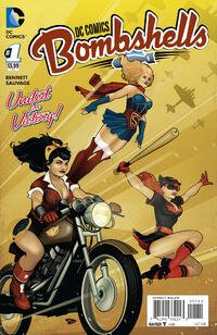 DC Comics Bombshells 01 variant