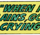 Lois Lane: When It Rains, God Is Crying