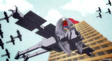 Flying mechanical monster