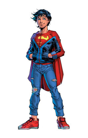 Rebirth superboy design