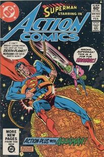 Action Comics Issue 528