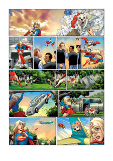 Wednsday Comics Supergirl