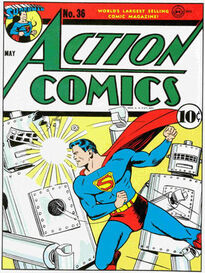 Action Comics Issue 36