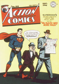 Action Comics Issue 100