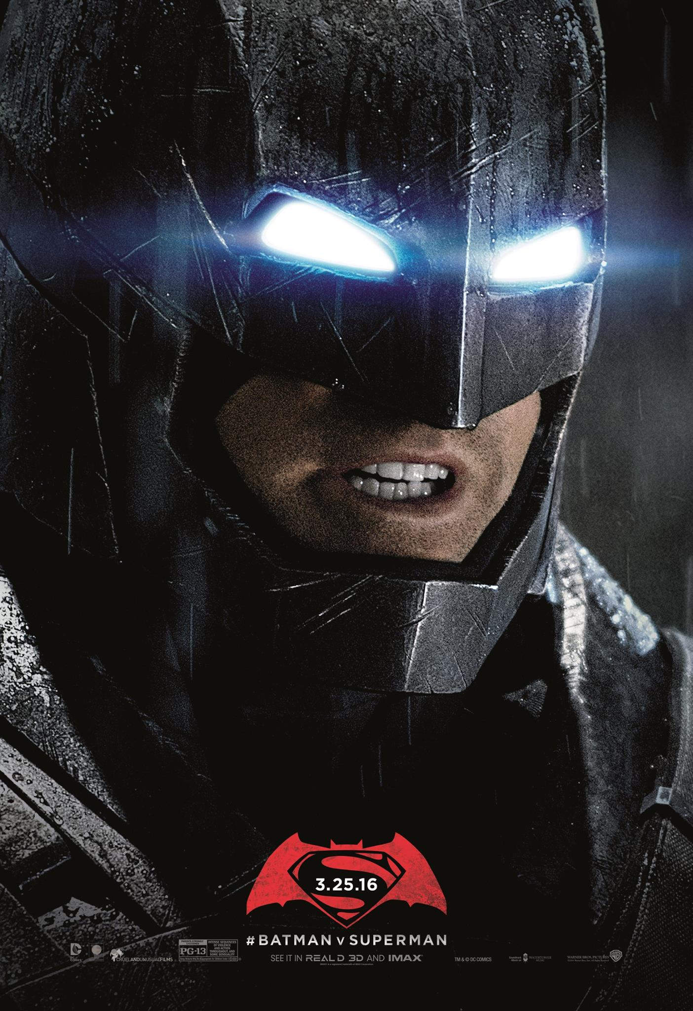 Batman V Superman Posters Unused 1