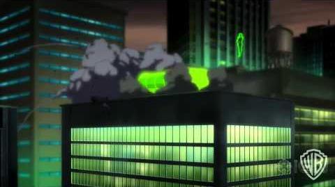 Justice League War Clip - Batman and Green Lanterns First Meeting