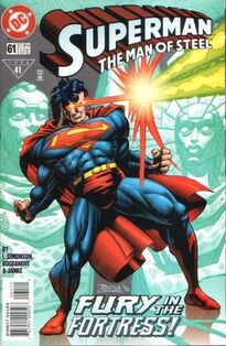 Superman Man of Steel 61