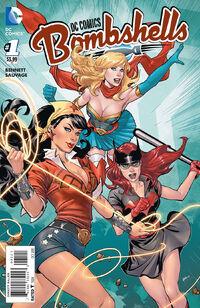 DC Comics Bombshells 01