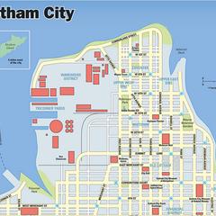 Mapa de Gotham