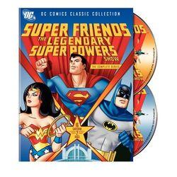 DVD - Super Friends - The Legendary Powers Show