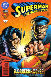 Superman Man of Steel 53