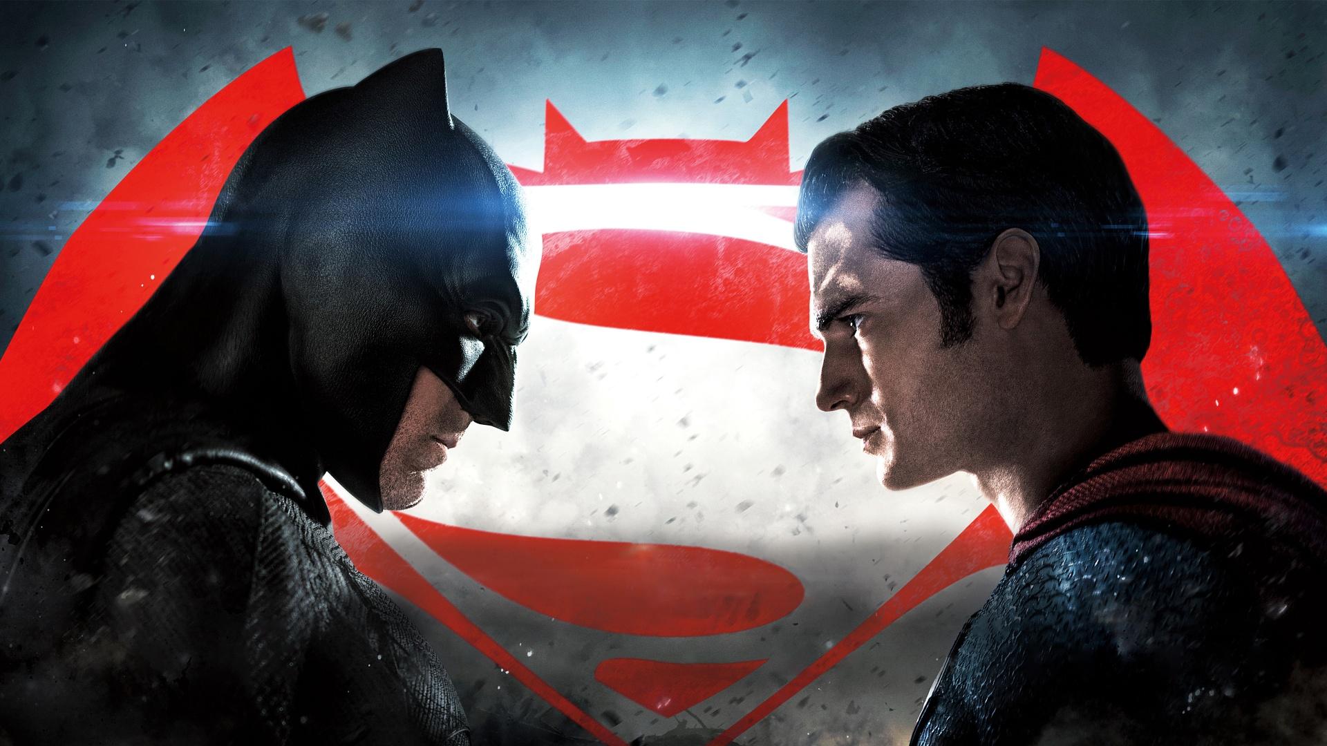 Batman V Superman Faceoff