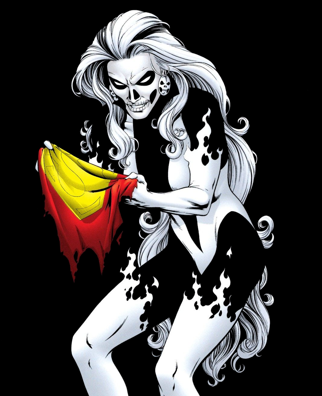 Image - Silver Banshee S-cape.png | Superman Wiki | FANDOM powered on black dog, bloody mary, shadow people, white lady, la llorona, headless horseman,