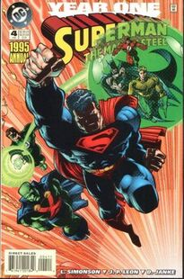 Superman Man of Steel Annual 4