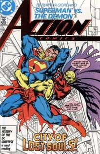 Action Comics Issue 587