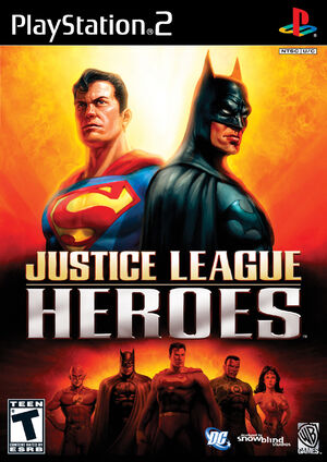 Justice League Heroes box