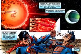 Superman vs superboy prime