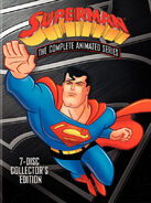 Superman complete animated series dvd box art