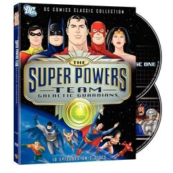 DVD - The Super Powers Team Galactic Guardians