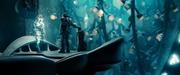 La conciencia de Jor-El es destruida por Zod.