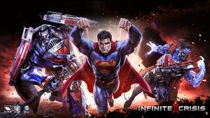 Infinite Crisis video game superman