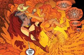 Kara vs starfire