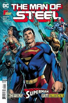 The Man of Steel Vol 2 1