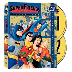 DVD - Super Friends - Volume Twoa