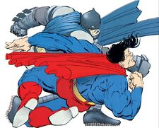 DKSA Superman Fights Batman