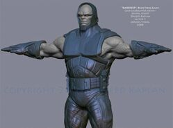 Darkseid Blue Steel